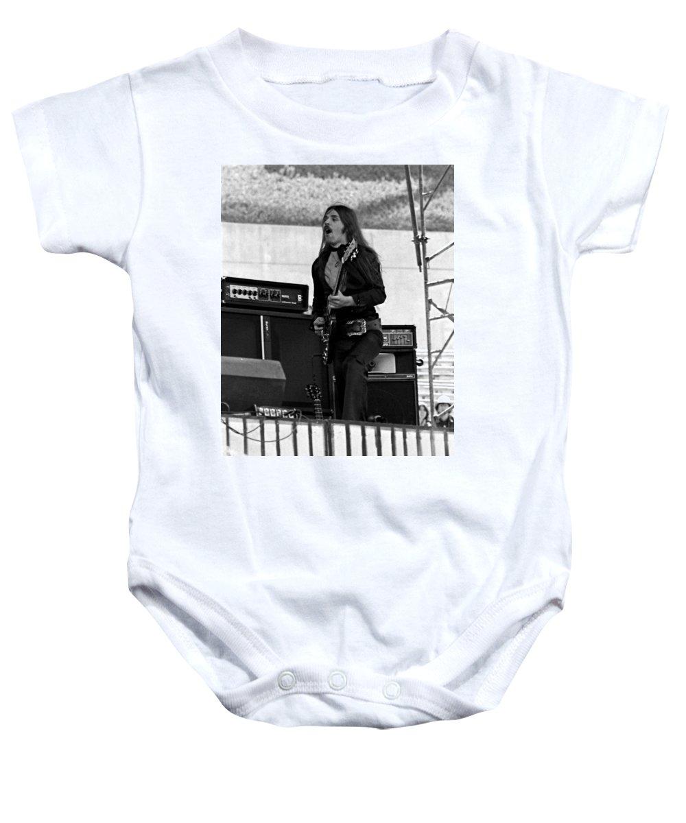 Frank Marino Baby Onesie featuring the photograph Mrdog #3 by Ben Upham