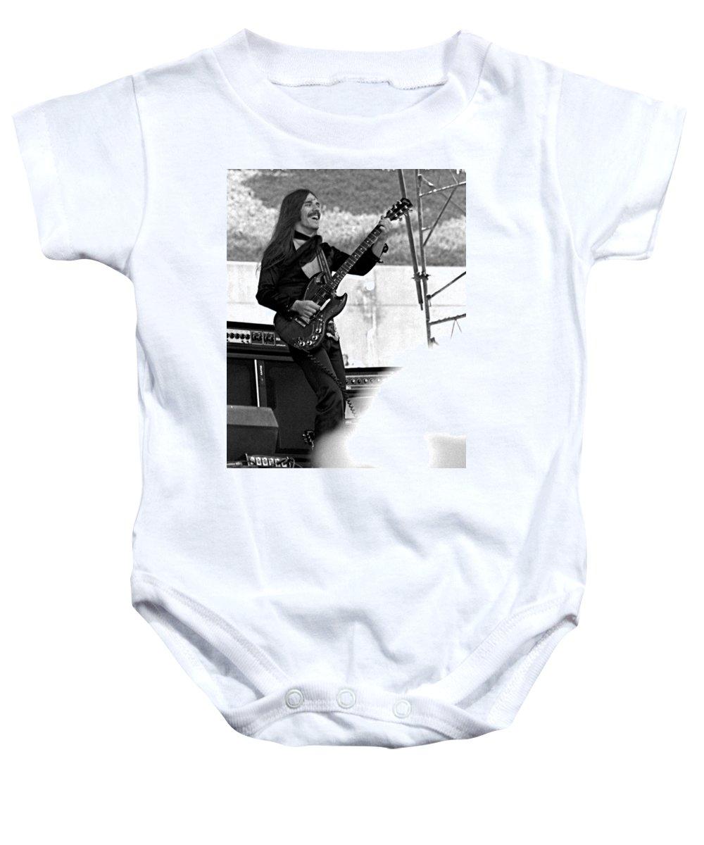 Frank Marino Baby Onesie featuring the photograph Mrdog #7 Crop 2 by Ben Upham