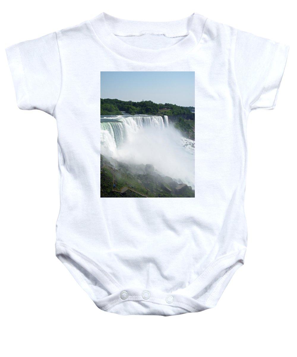 Niagara Falls Baby Onesie featuring the photograph Niagara Falls 7 by Aimee L Maher ALM GALLERY