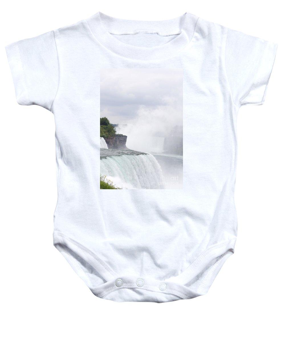 Baby Onesie featuring the photograph Niagara Falls One by Sara Schroeder