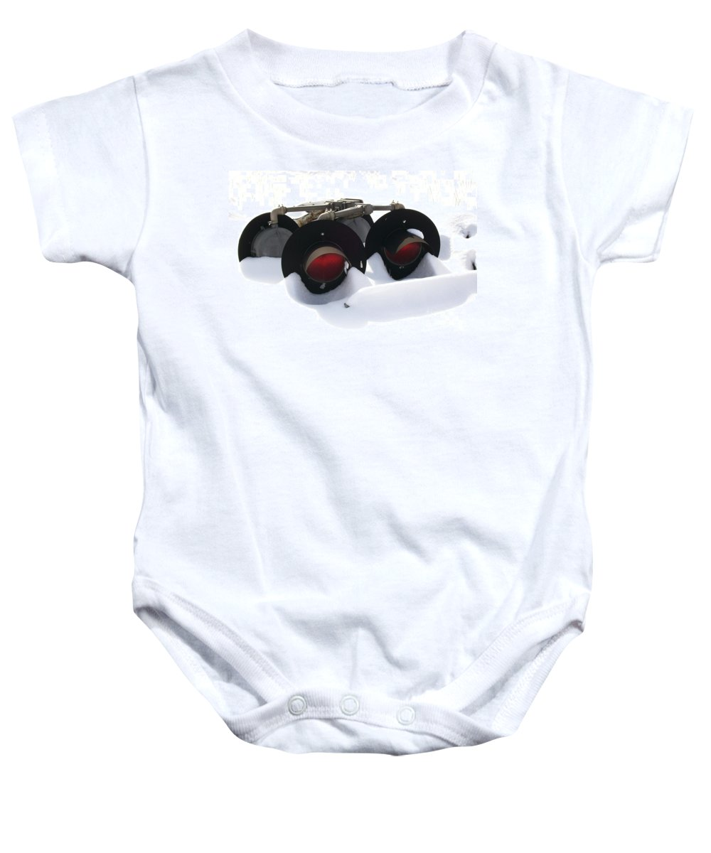 Lights Baby Onesie featuring the photograph Nothin But Lights by Sara Raber