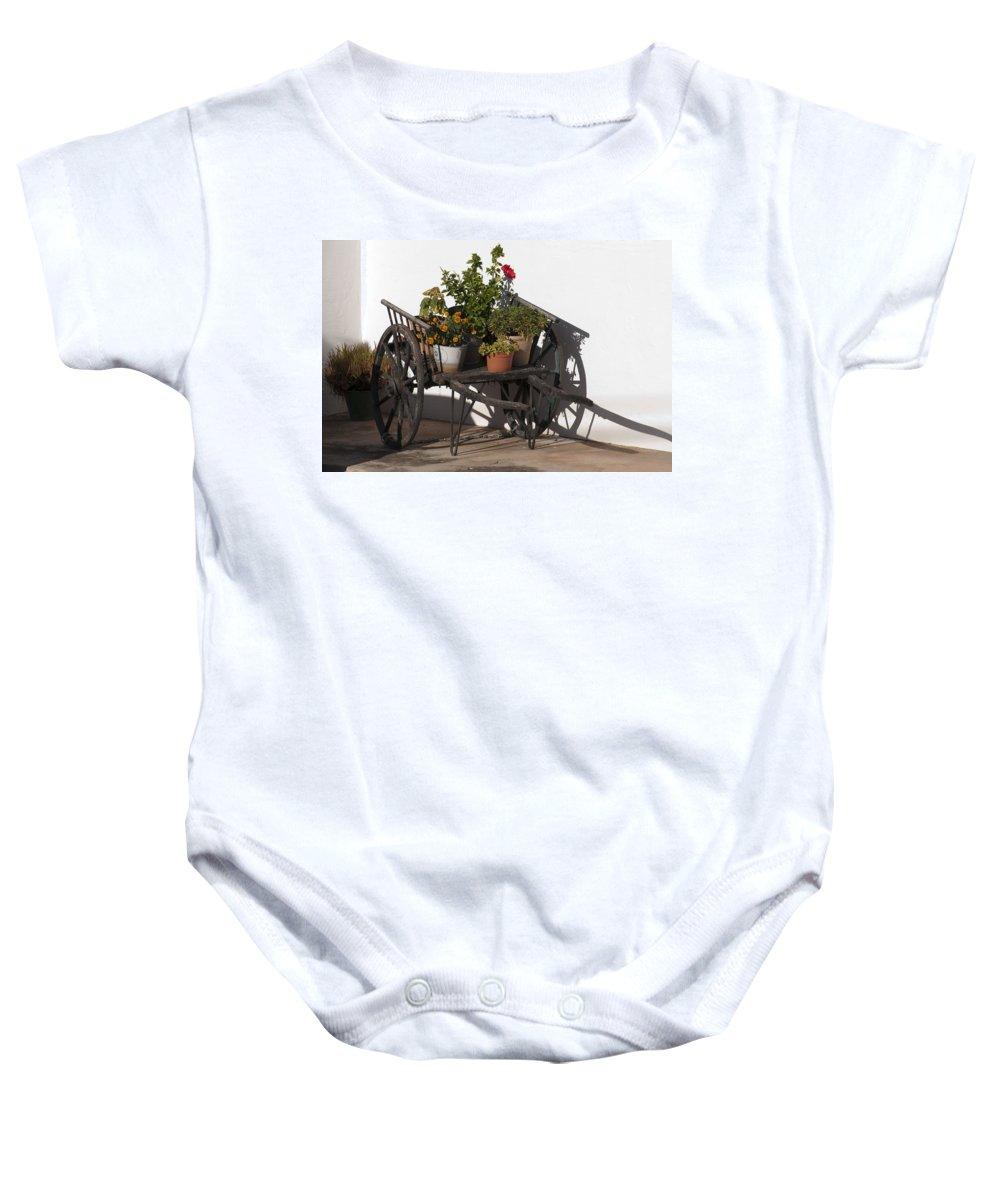 Outdoor Baby Onesie featuring the photograph Old Barrow by Pedro Cardona Llambias