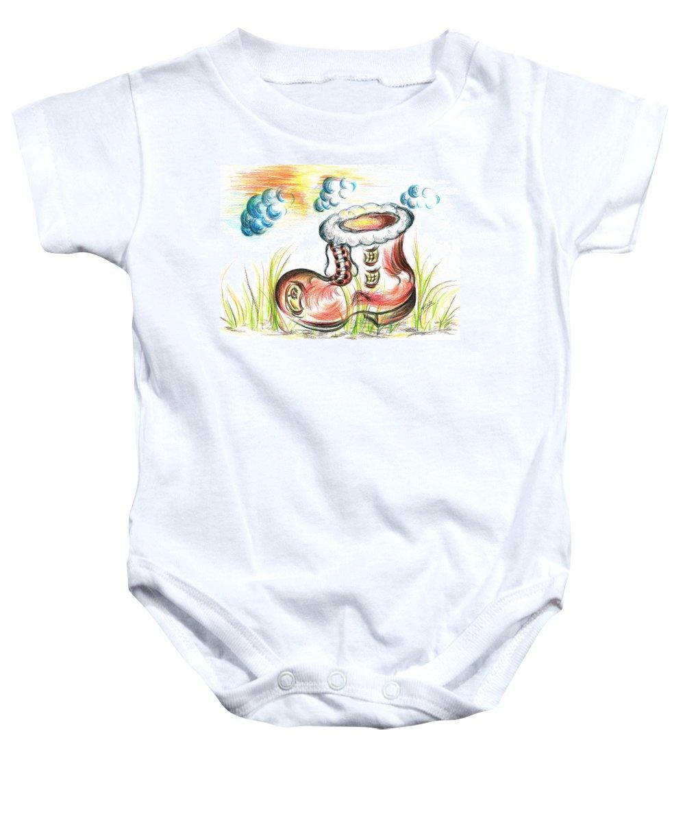 Golden Grass Baby Onesies
