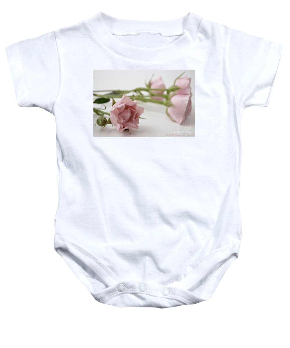 Photography Baby Onesie featuring the photograph Old Fashioned by Susan Smith