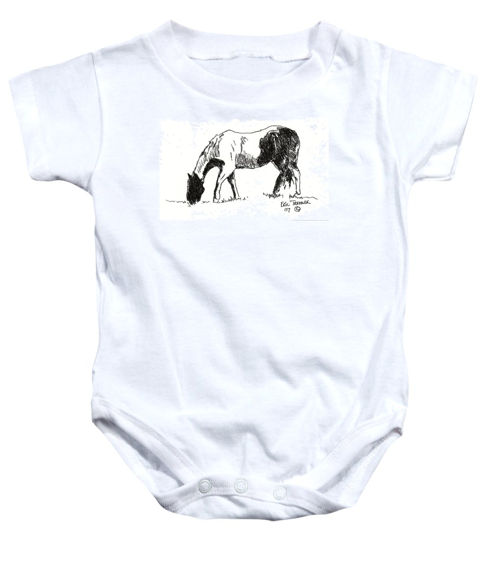 Drawing Baby Onesie featuring the photograph Paint by Eric Tressler