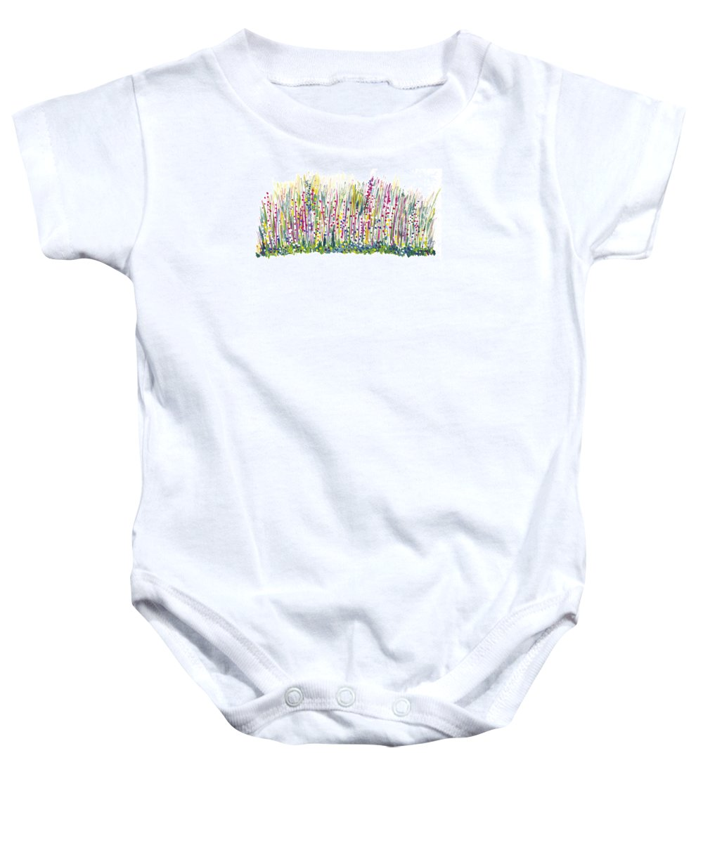 Spring Baby Onesie featuring the painting Pastel by Bjorn Sjogren