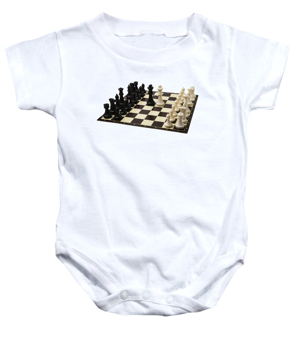 Abstract Baby Onesie featuring the photograph Peace Negotiations At The Summit Level - Featured 3 by Alexander Senin