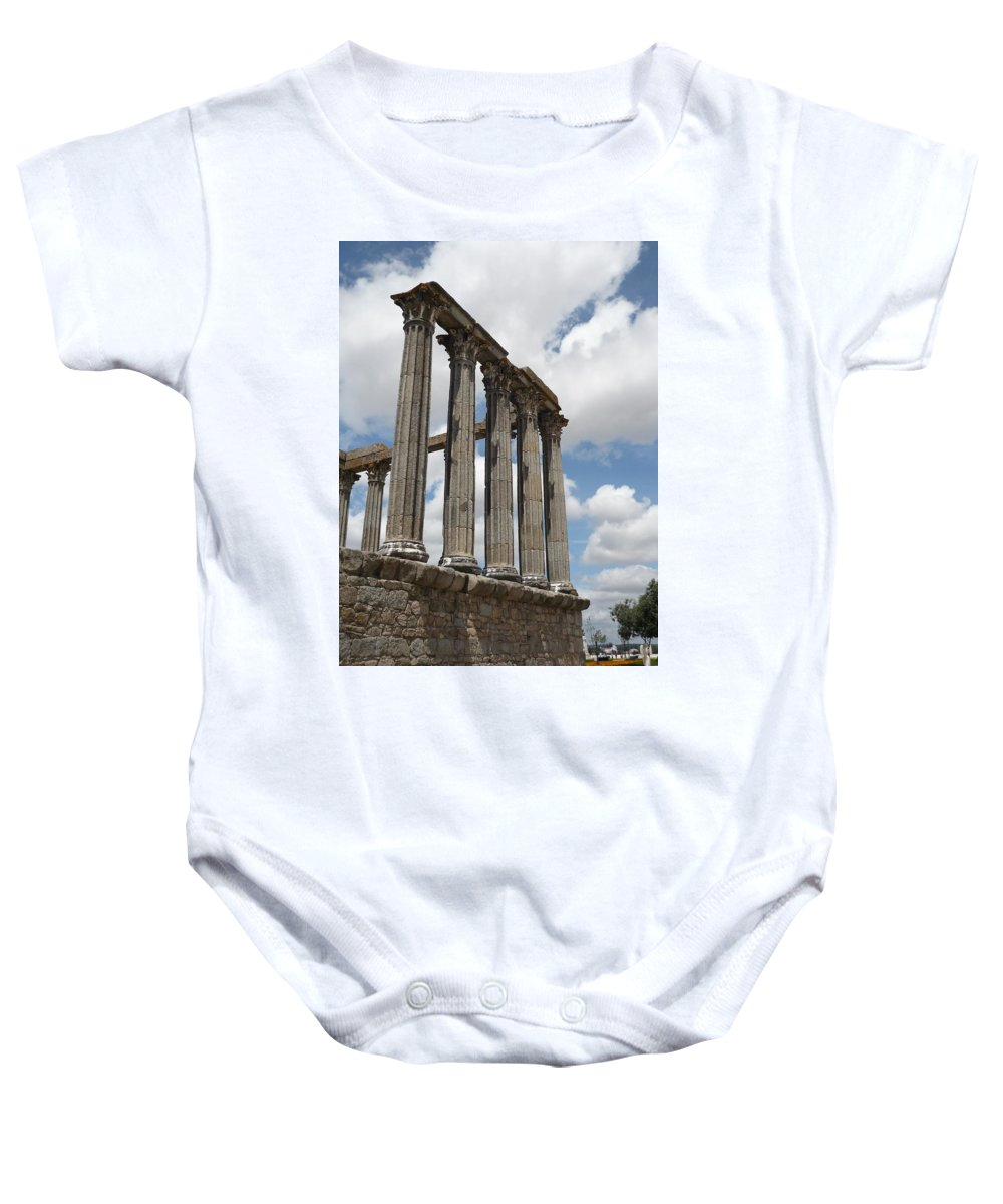 Architecture Baby Onesie featuring the photograph Portugal 2 by Kimberly Maxwell Grantier