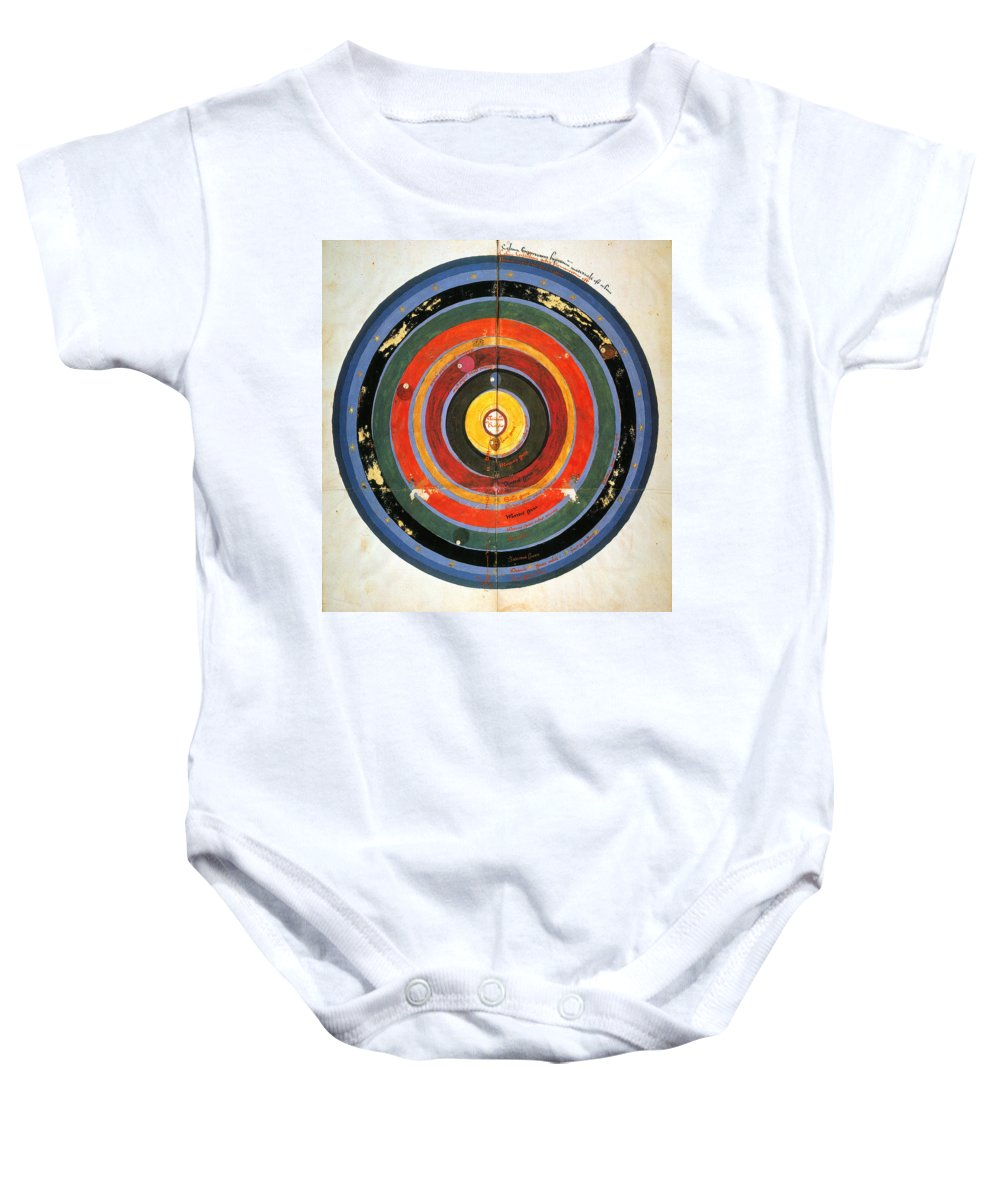 15th Century Baby Onesie featuring the photograph Pre-copernican Universe by Granger