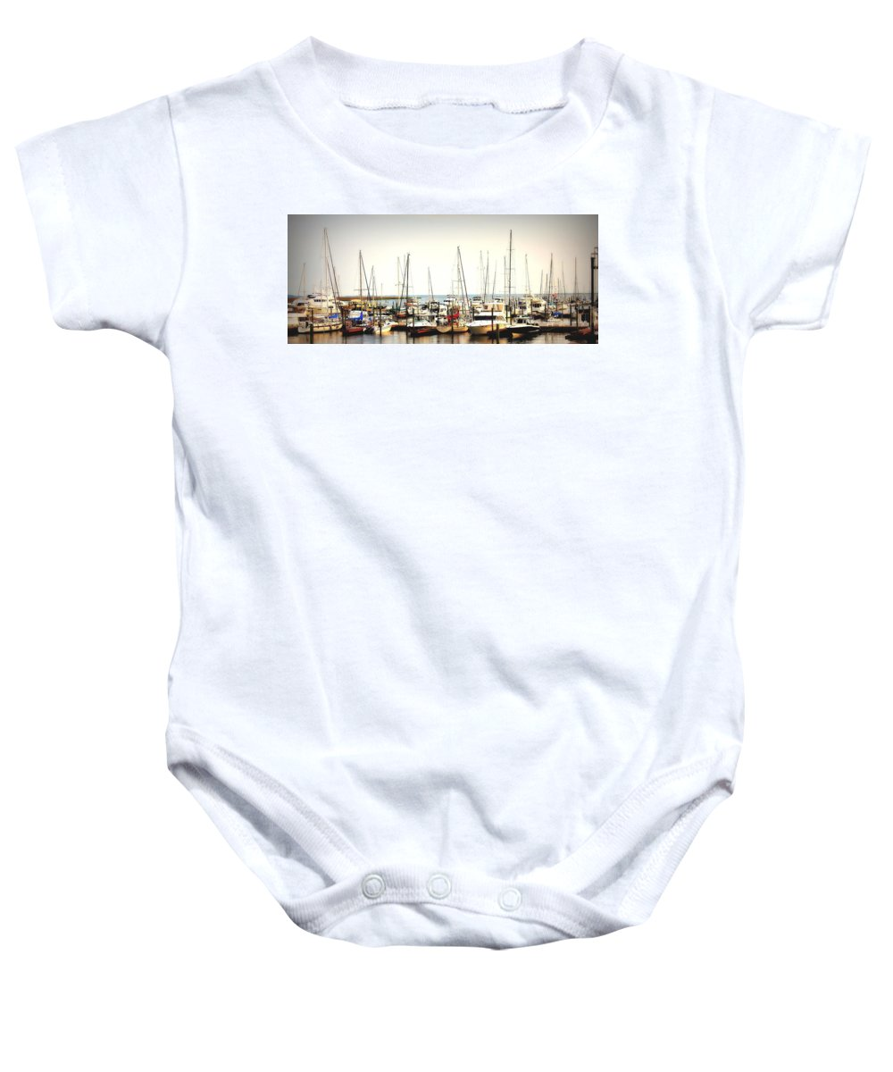 Sea Island Baby Onesie featuring the photograph Safe Resting Place by Reid Callaway