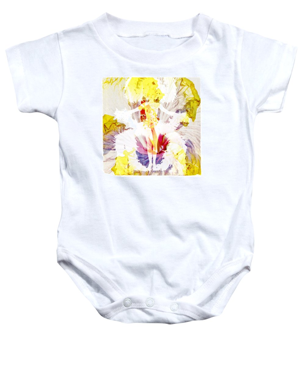Show Girl Baby Onesie featuring the photograph Show Girl Hibiscus by Olivia Novak