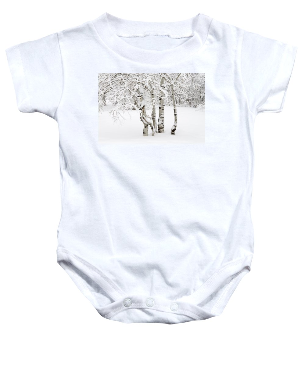 Utah Baby Onesie featuring the photograph Simplicity by Dustin LeFevre