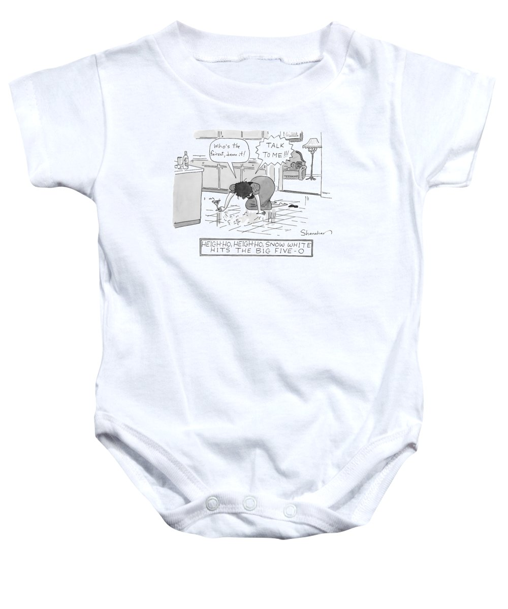 bdf7e83c3 Snow White Is Fifty Years Old Onesie for Sale by Danny Shanahan