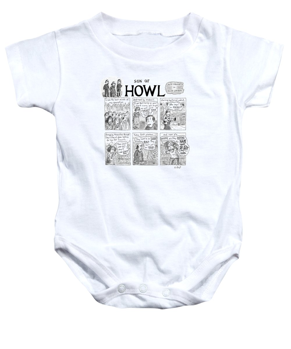 ca2e80d46 Son Of Howl Onesie for Sale by Roz Chast