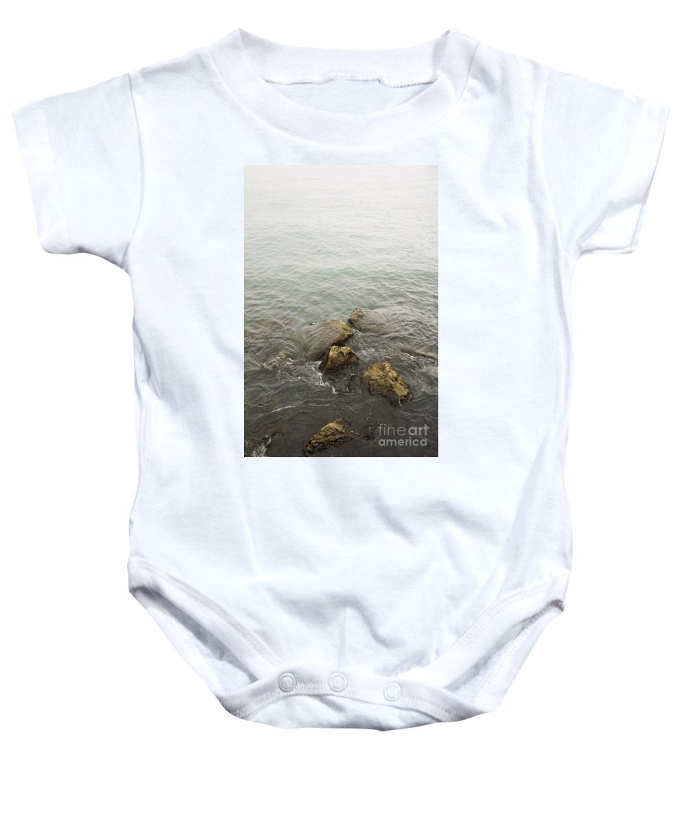 Water Baby Onesie featuring the photograph Surrounded by Margie Hurwich