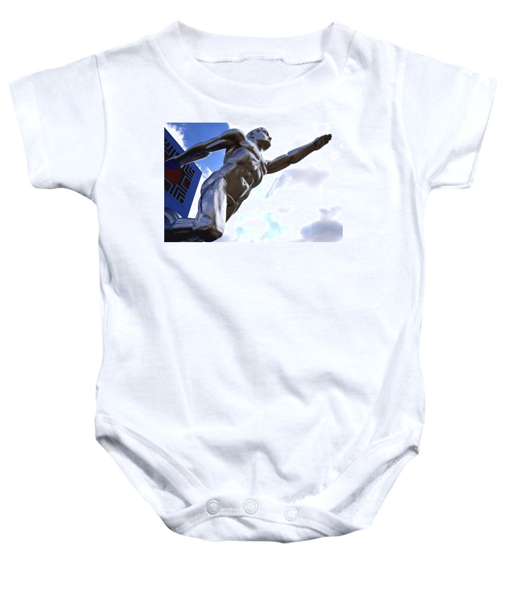 Tenor Baby Onesie featuring the photograph Tenor 3 by Charlie Brock