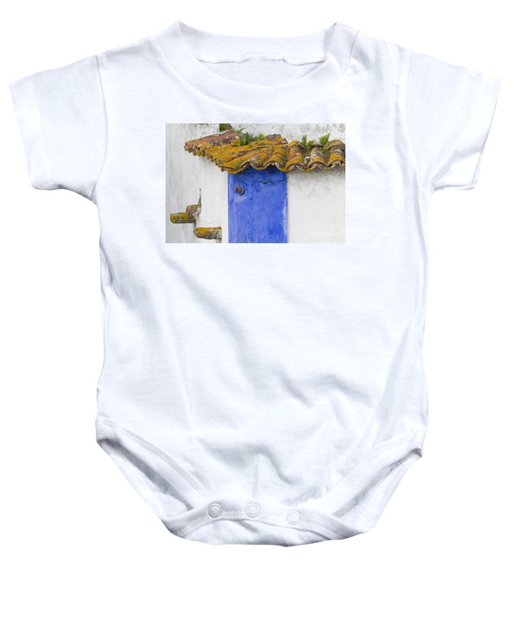 Heiko Baby Onesie featuring the photograph The Blue Corner In The White House by Heiko Koehrer-Wagner