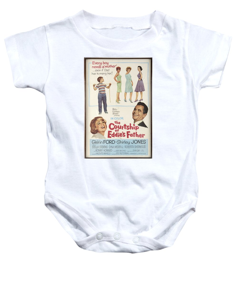 Glenn Ford Baby Onesie featuring the photograph The Courtship Of Eddie's Father by Mountain Dreams