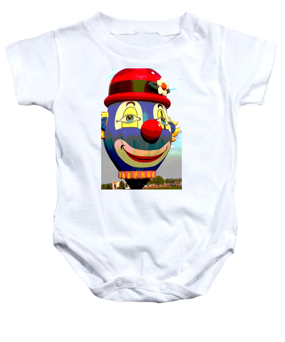 Adventure Baby Onesie featuring the photograph The Smile by Jack R Perry