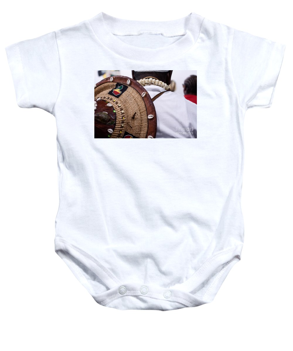 Hat Baby Onesie featuring the photograph The Tradition by Mary Smyth