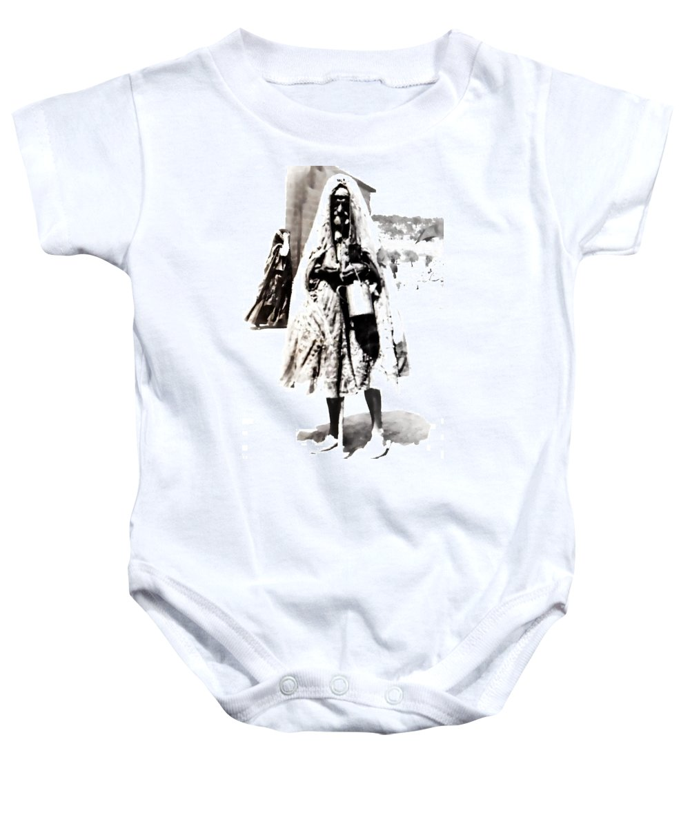 Vintage Baby Onesie featuring the photograph The Village by Image Takers Photography LLC