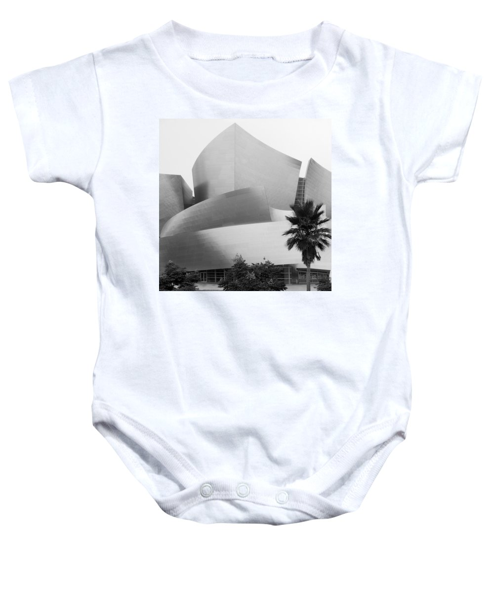 Los Angeles Baby Onesie featuring the photograph Wdch - B-w by Robert Mollett