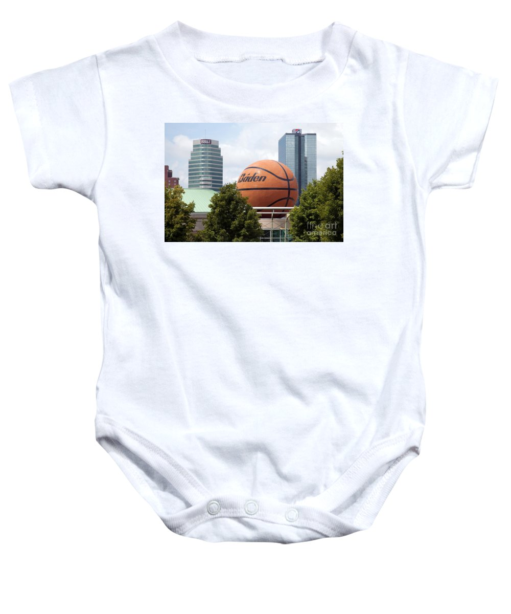 Baden Baby Onesie featuring the photograph Women's Basketball Hall Of Fame Knoxville Tennessee by Bill Cobb