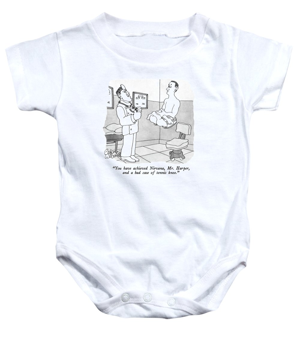 aac0fc7d8 You Have Achieved Nirvana Onesie for Sale by Gahan Wilson