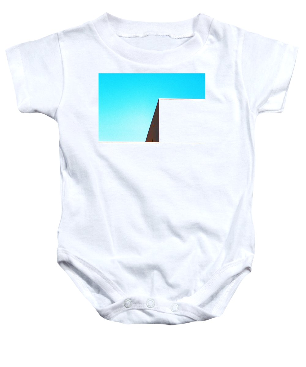Abstract Baby Onesie featuring the photograph Architecture 4 by Lenore Senior