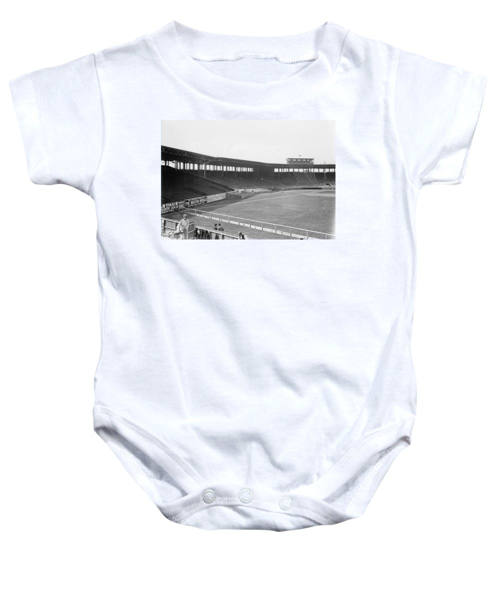 1912 Baby Onesie featuring the photograph Boston: Fenway Park, 1912 by Granger