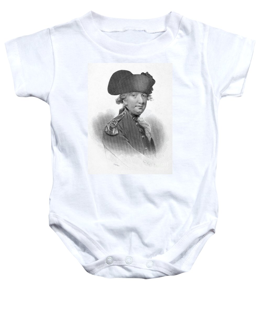 18th Century Baby Onesie featuring the photograph Charles Cornwallis by Granger
