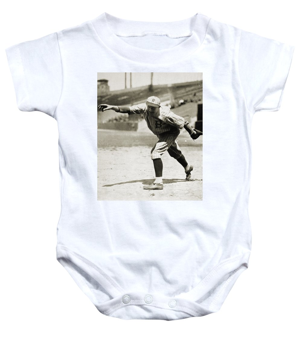 1920s Baby Onesie featuring the photograph Dazzy Vance (1891-1961) by Granger