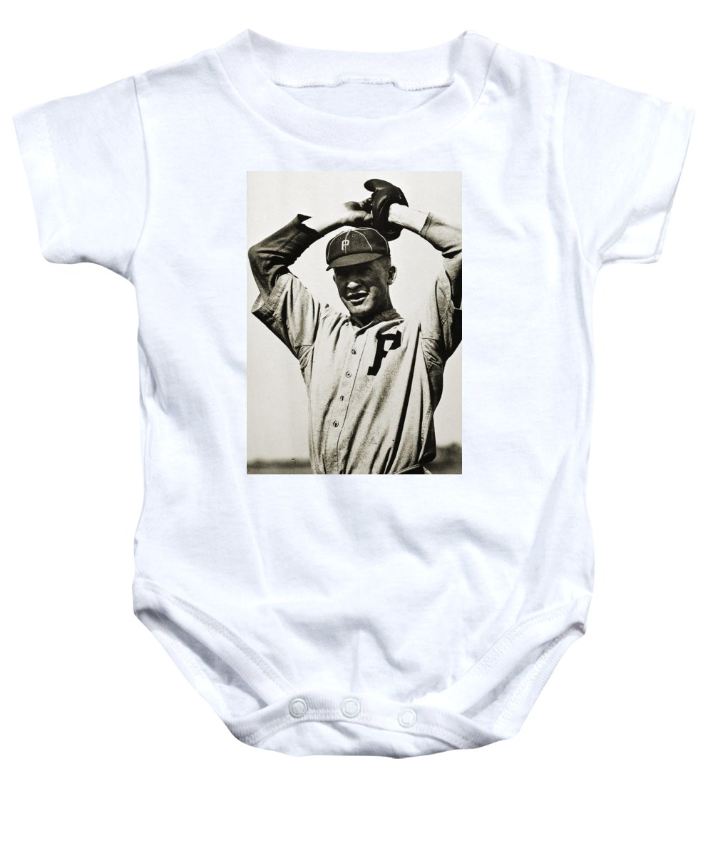20th Century Baby Onesie featuring the photograph Grover Cleveland Alexander by Granger