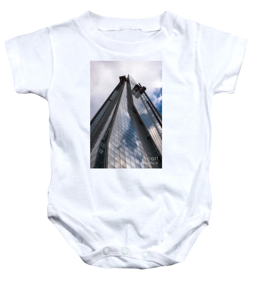 2012 Baby Onesie featuring the photograph Shard by Andrew Michael