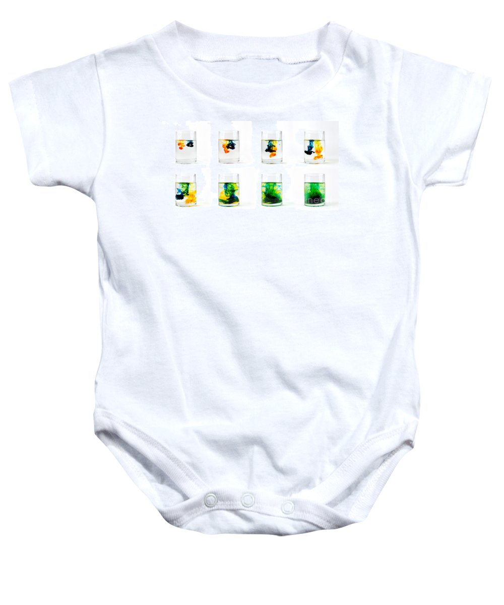 Secondary Colors Baby Onesies