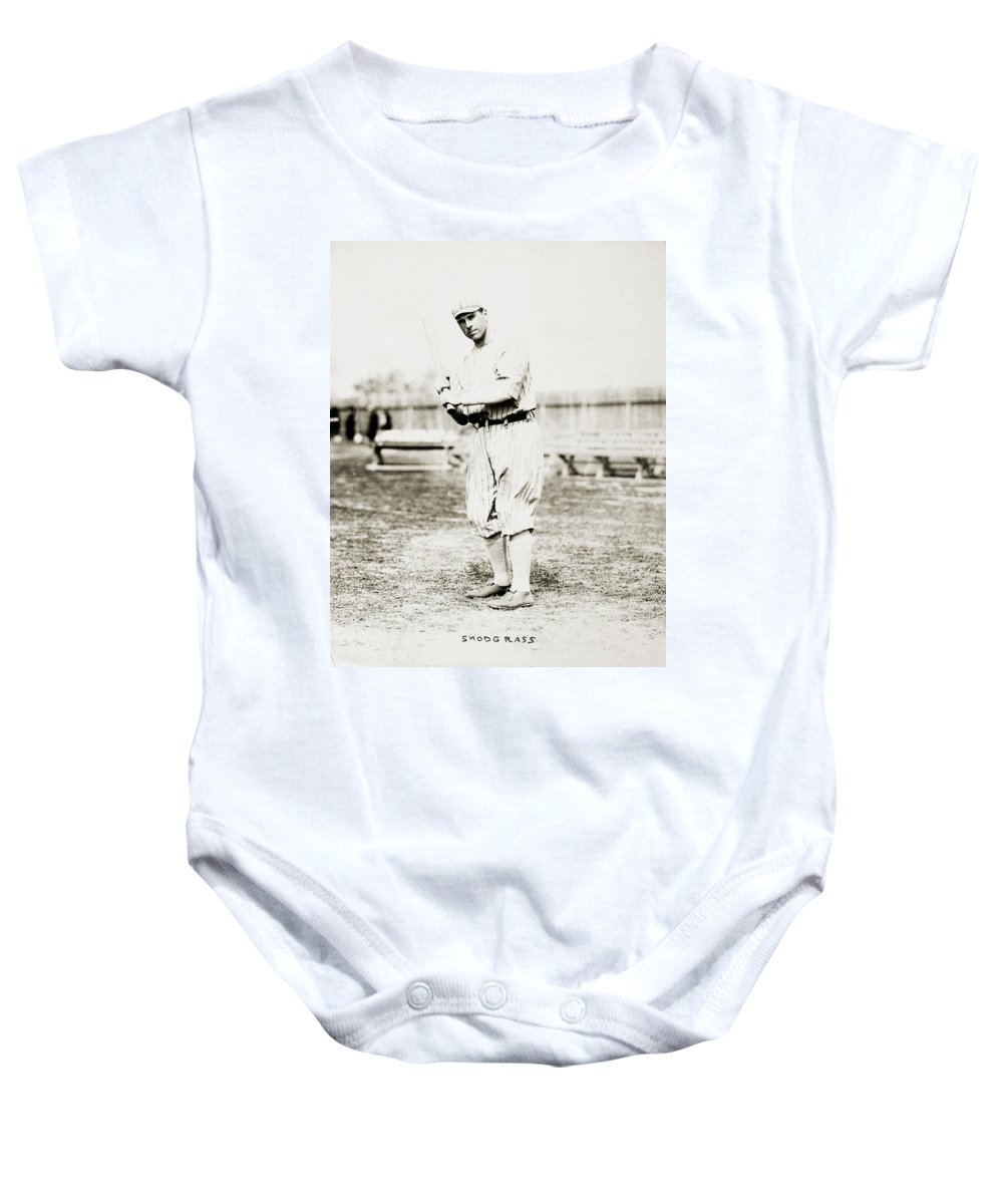 1914 Baby Onesie featuring the photograph Fred Snodgrass (1887-1974) by Granger
