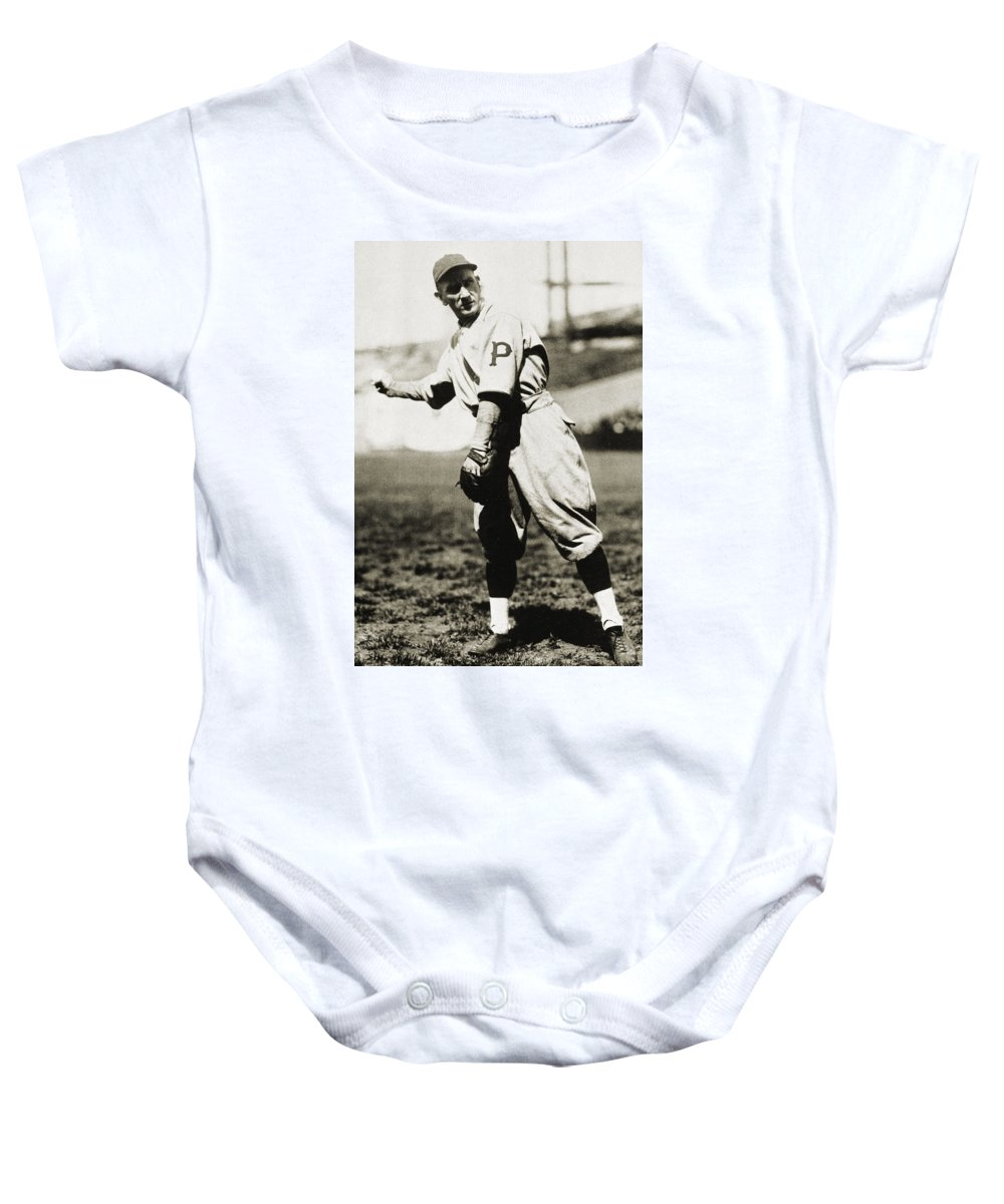 1920s Baby Onesie featuring the photograph Walter Rabbit Maranville by Granger