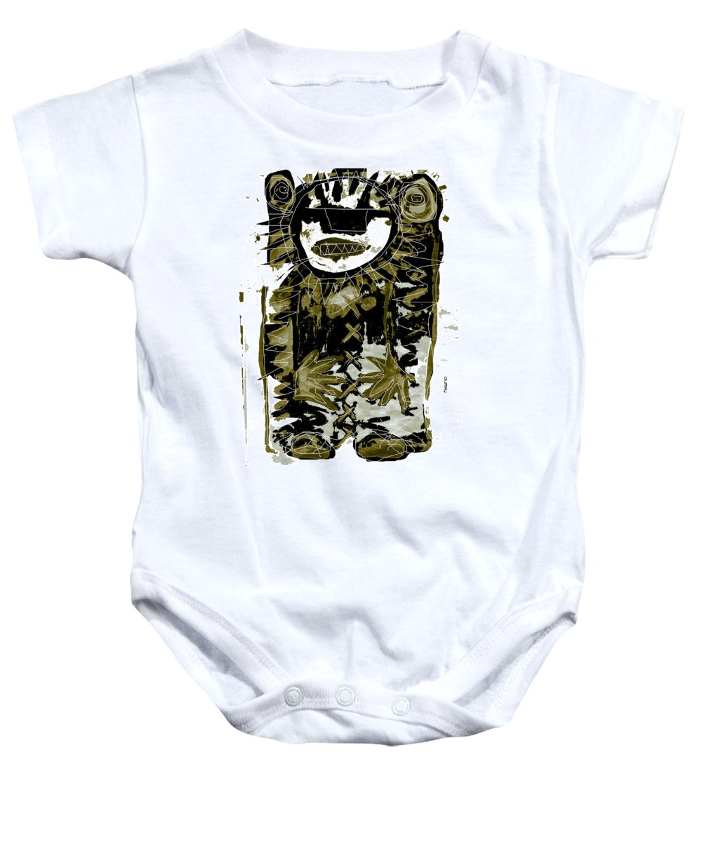 Ancient Civilizations Baby Onesie featuring the photograph Ancestor 1b by Doug Duffey