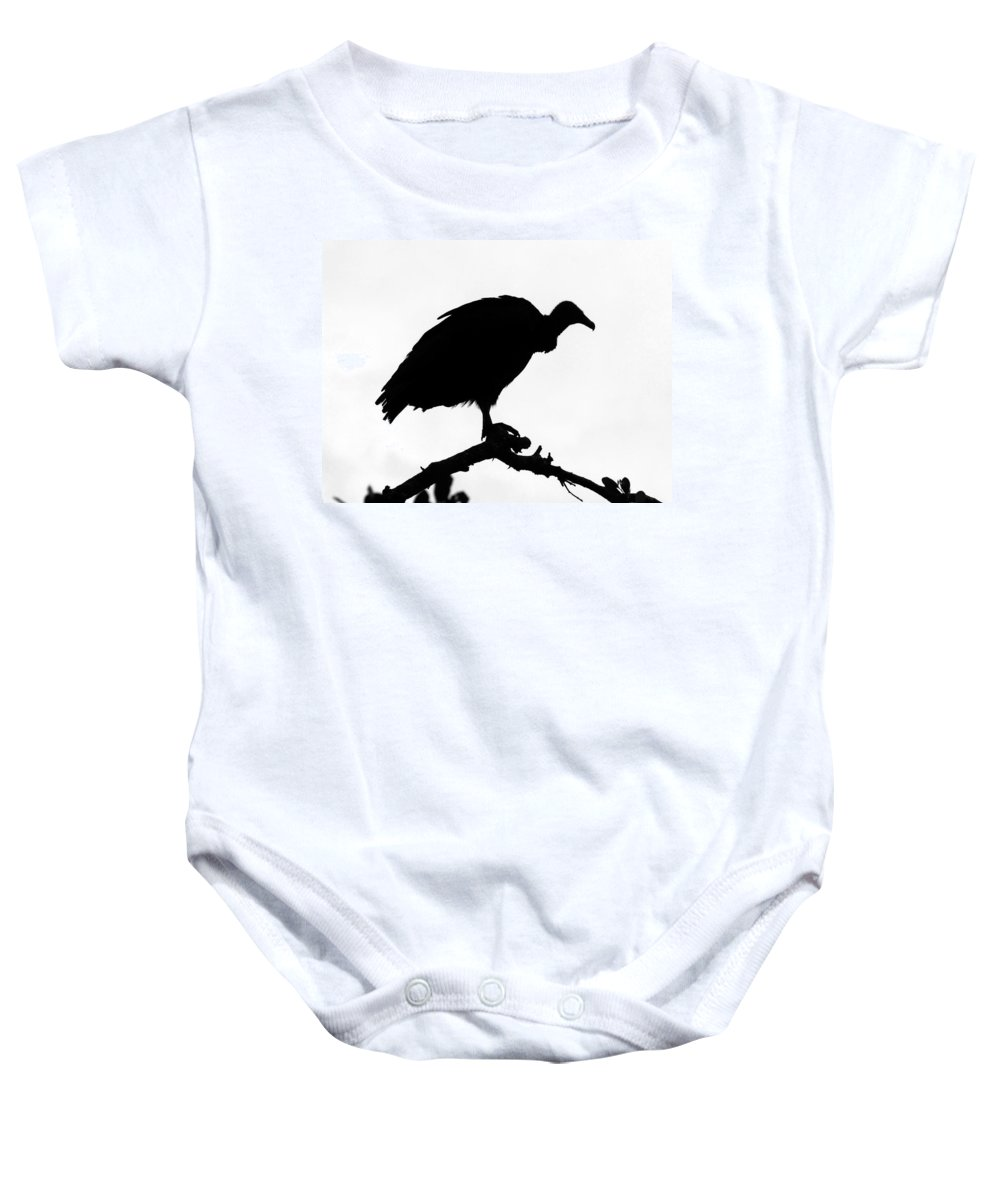 Bird Baby Onesie featuring the photograph Awaiting Death by David Lee Thompson