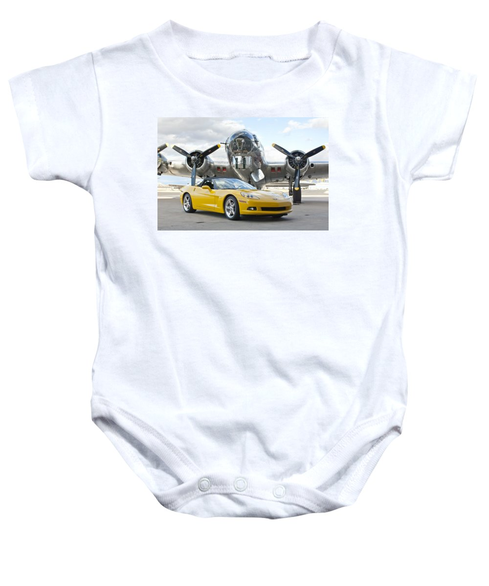 Baby Onesie featuring the photograph Cc 13 by Jill Reger