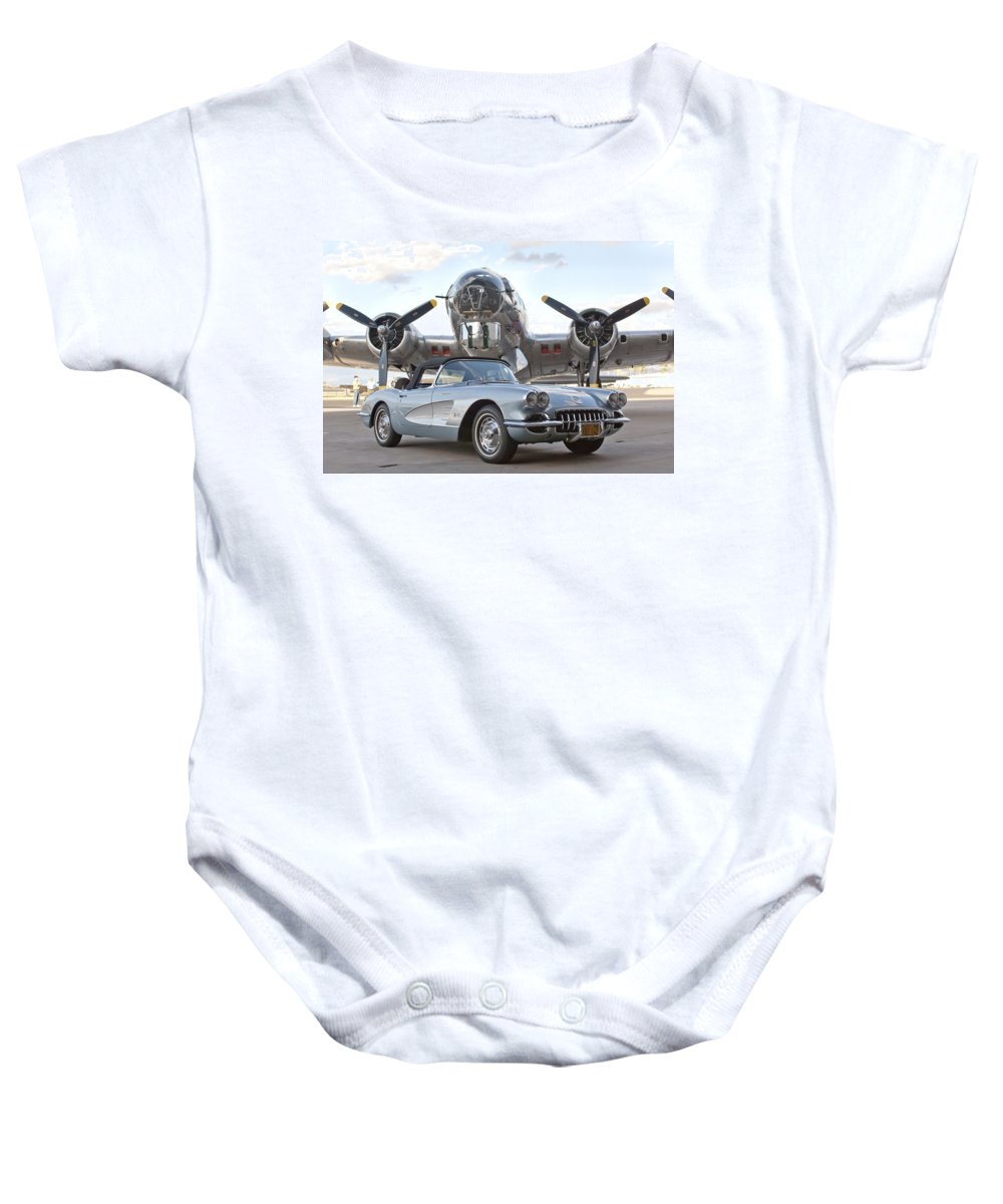 Baby Onesie featuring the photograph Cc 21 by Jill Reger
