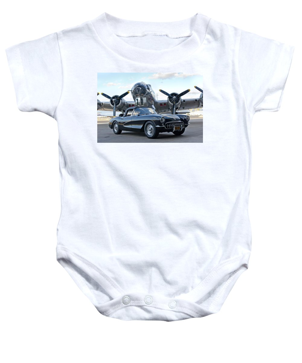 Baby Onesie featuring the photograph Cc 23 by Jill Reger