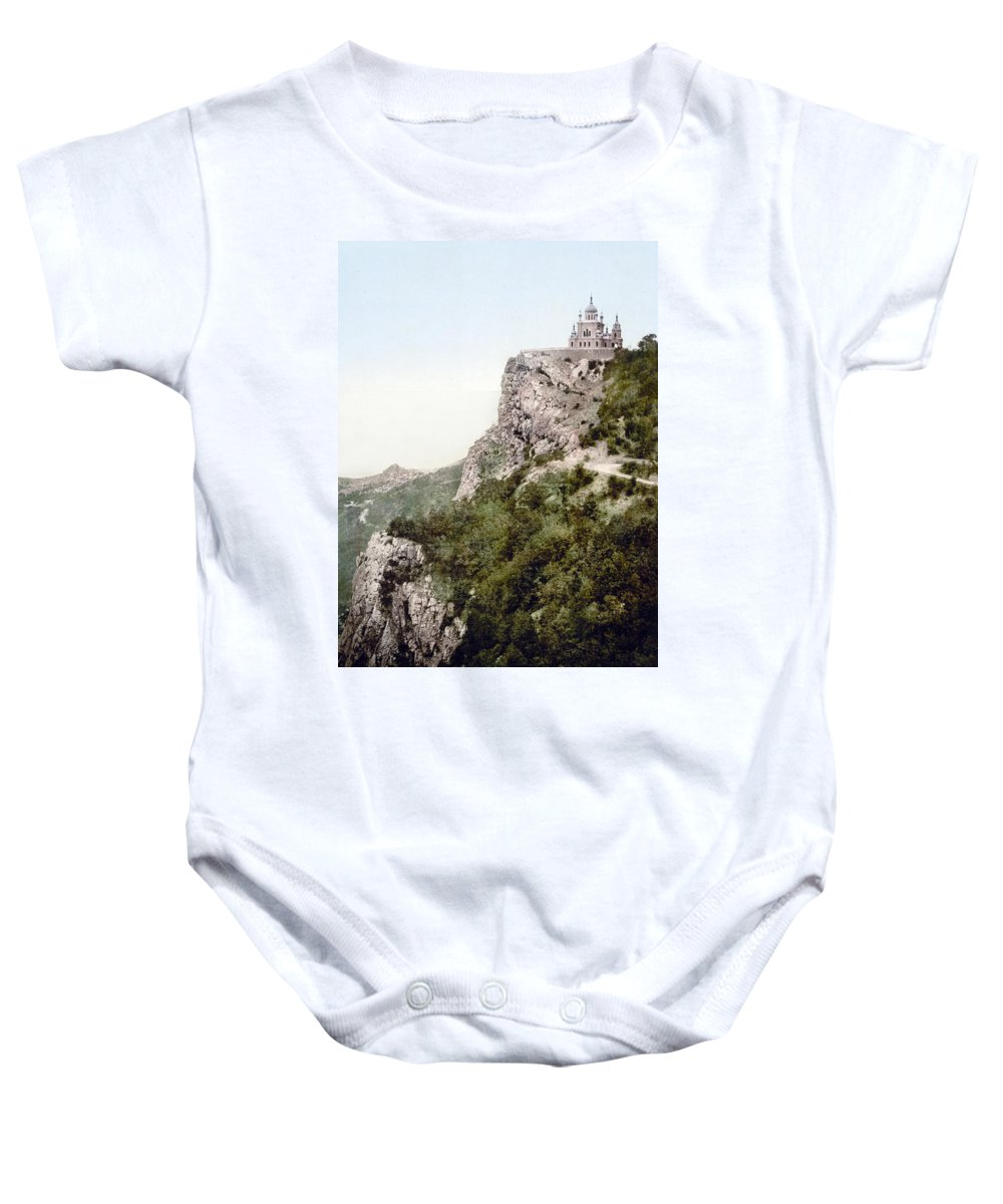 Crimea Baby Onesie featuring the photograph Church In Crimea - Ukraine - Russia by Bode Stevenson