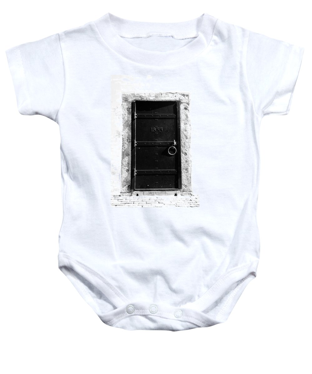 Fine Art Photography Baby Onesie featuring the photograph Door To Cape Florida by David Lee Thompson
