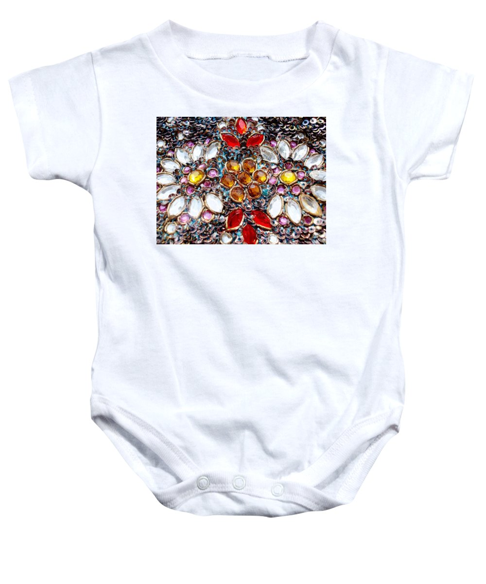 Blossoming Baby Onesie featuring the photograph Flower Of Beads by Sumit Mehndiratta