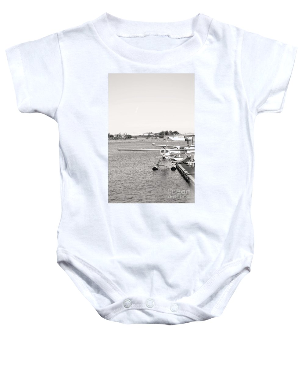 Dragon Boat Races Baby Onesie featuring the photograph In Plane Sight by Traci Cottingham