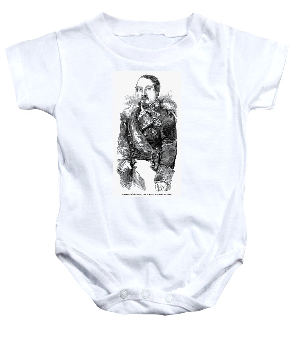 19th Century Baby Onesie featuring the photograph Leopoldo Odonnell by Granger