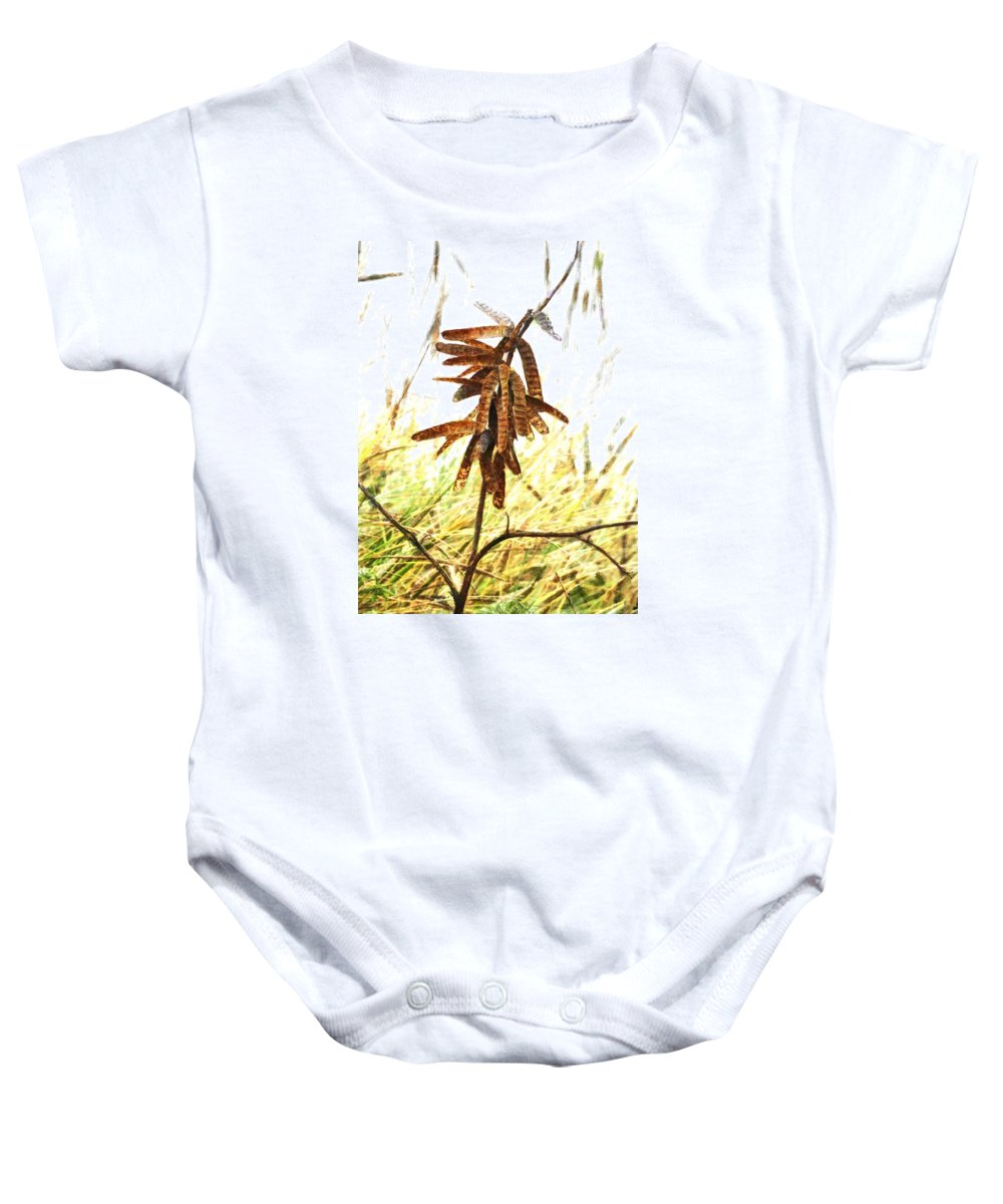 Seeds Baby Onesie featuring the photograph Let Us Celebrate Another Successful Year by Steve Taylor