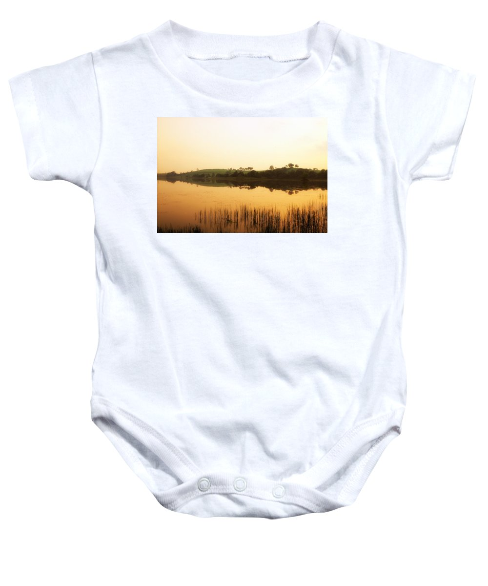 Calm Baby Onesie featuring the photograph Lough Muck, County Tyrone, Ireland by The Irish Image Collection