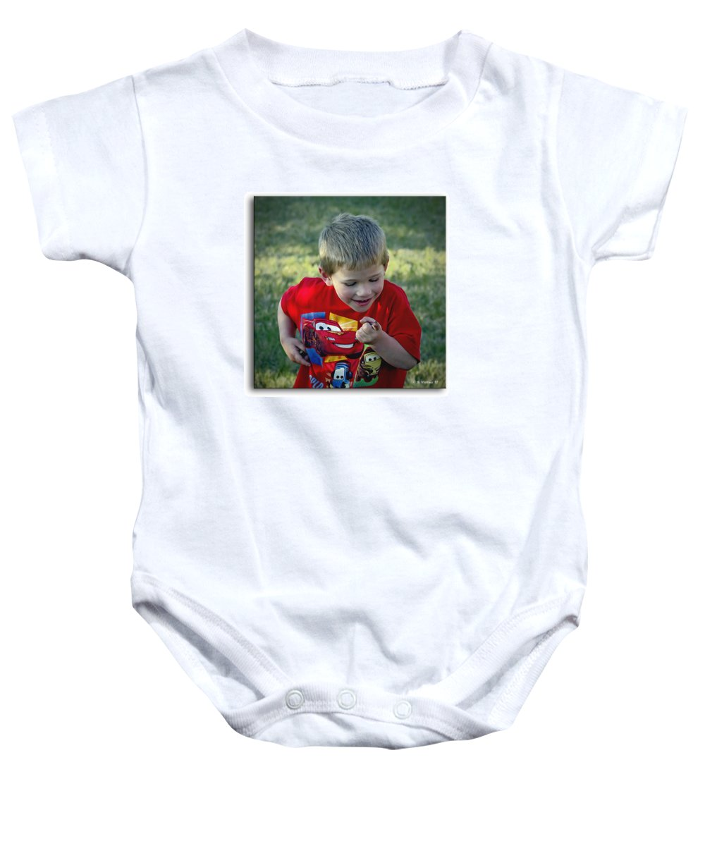 2d Baby Onesie featuring the photograph Nature Discovery by Brian Wallace